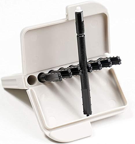 40x EWANTO Cerumenfilter CeruStop Wax Guards für Phonak, WIDEX mit je einem Filter-Wechselstift (5x 8er Box)