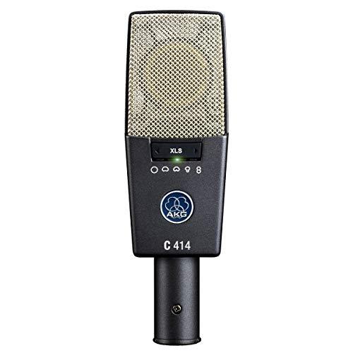 AKG C414 XLS - Micrófono (Studio, 20-20000 Hz, Cardioid, Alámbrico,...