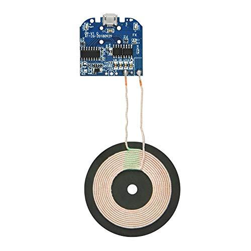 Gikfun Qi Wireless Charger PCBA Circuit Board Coil Wireless Charging Micro USB Port DIY EK1854