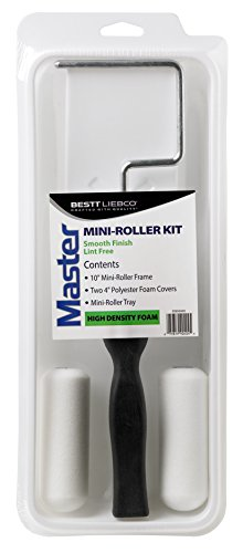 Bestt Liebco 559040400 Master 4 inch Foam 4 Piece Mini Roller Kit