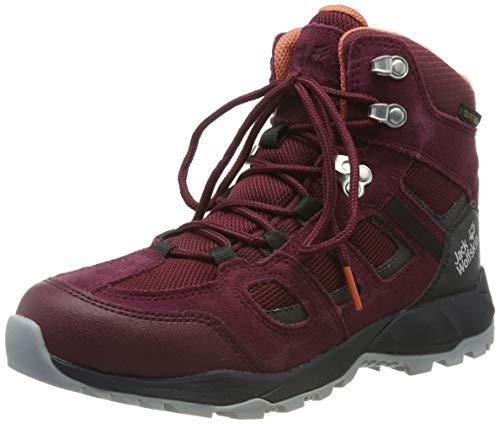 Jack Wolfskin Damen Vojo Hike XT Texapore MID W Wasserdicht Trekking- & Wanderstiefel, Rot (Burgundy/Phantom 2814), 37.5 EU