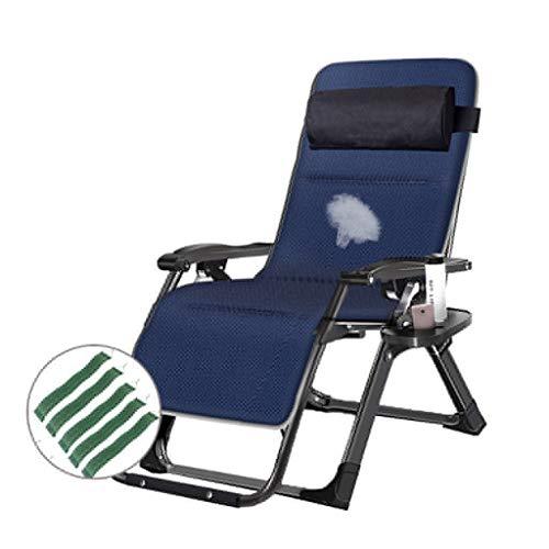 Chaise Longue relaxante inclinable Portable en Plein air pour Le Camping Pêche Plage Portabilité légère Respirabilité Portabilité légère Ayez Un Endroit pour Vous détendre, Lire, Sieste au Chalet