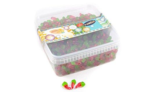 Deine Naschbox - Fruchtgummi Mini-Hot-Chillis - 1kg Naschbox