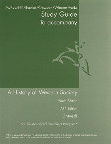 AP Study Guide for A History of Western Society Since 1300
