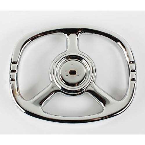 Lowest Price! Blue Diamond Classics Pedal Car Parts, Late Murray Oval Steering Wheel, Chrome