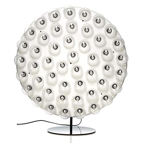 Prop Light ronde LED vloerlamp, wit RAL 9016 2000K 1800lm Ø 73cm H: 82cm