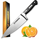 STEINBRÜCKE Chef Knife 6 inch, Pro Kitchen Knife Forged from German Stainless Steel 5Cr15Mov...