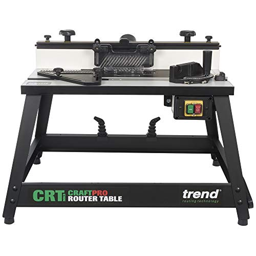 Trend CRT/MK3 Craft Pro Router Table for Joinery, Furniture, Shaping and Moulding Applications, 240 V