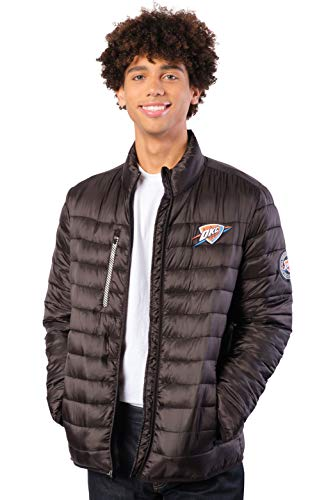 Ultra Game NBA Men's Lightweight Packable Puffer Down Jacket (Oklahoma City Thunder, XL) $15.15, More + Free Shipping w/ Prime or on $25+
