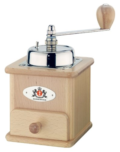 ザッセンハウス ZASSENHAUS コーヒーミル 手挽き ブラジリア MJ-0805