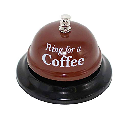Desk Kitchen Bar Counter Top Service Call Bell Ring for a Coffee