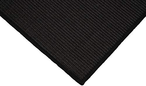 Teppich Janning Sisalteppich umkettelt schwarz 100% Sisal gekettelt - Verschiedene Größen (140 x 200 cm)