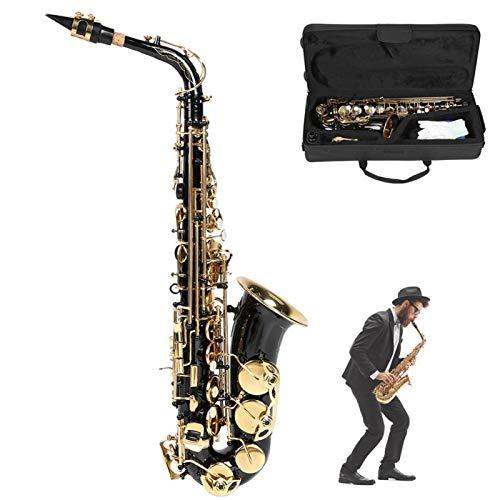 Sassofono sassofono in mi bemolle contralto, per principianti, insegnamento e spettacoli teatrali(black)