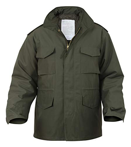 Rothco M-65 Field Jacket, Olive Drab, XL