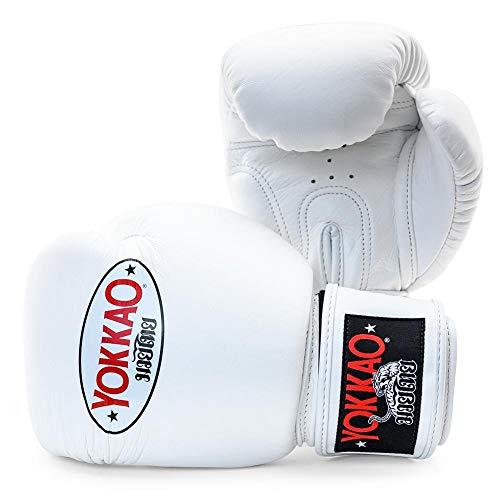 Guanti da boxe Yokkao Matrix traspiranti Muay Thai – nero, rosso, blu, bianco, giallo, verde, grigio, petrolio, 8oz, 10oz, 12oz, 14oz, 16oz, Uomo, Matrix Bianco, 14 oz