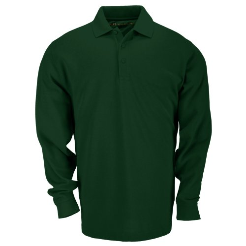 5.11 Tactical Professionnel Polo Manches Longues Homme, L E Green, FR (Taille Fabricant : XXXL)