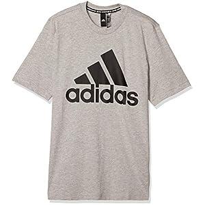 [アディダス] 半袖 Tシャツ マストハブ バッジ オブ スポーツ 半袖Tシャツ IUL48 メンズ ミディアムグレーヘザー(GC7350) 日本 J/L (日本サイズL相当)