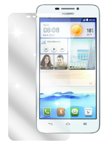 dipos I 2X Schutzfolie klar kompatibel mit Huawei Ascend G630 Folie Bildschirmschutzfolie