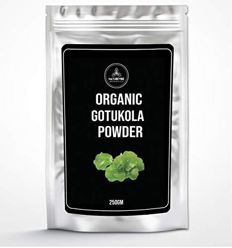Organic Gotukola Powder (250g) by Naturevibe Botanicals | Gluten Free