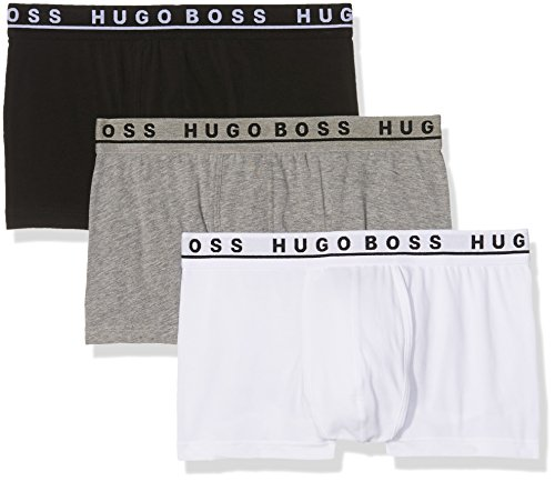 BOSS Hugo Boss Herren Boxershorts 3er Pack - Mehrfarbig (Assorted Pre-Pack 999) , Large
