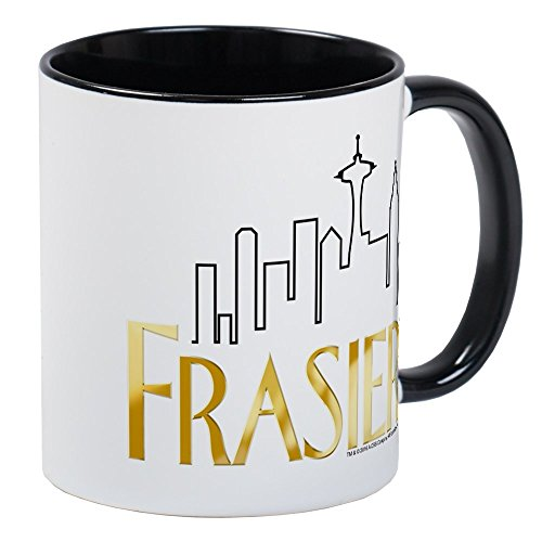 CafePress Frasier Logo Design Mug Unique Coffee Mug, Coffee Cup