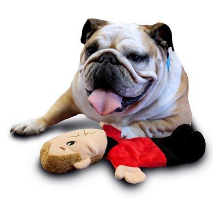 ABC Star Trek Red shirt de chien en peluche jouet de mastication