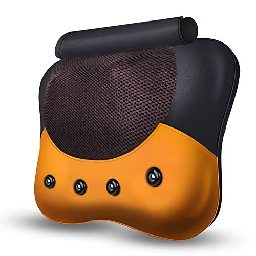 Busirsiz Almohada de masaje de presión y vibración 5D para dedos | Tela suave | para uso en el cuello, 16 cabezales de masaje de lactancia