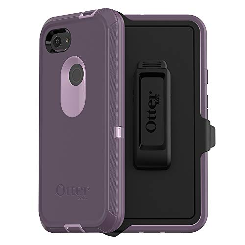 OtterBox Defender Series Case for Google Pixel 3a XL - Retail Packaging - Purple Nebula (Winsome Orchid/Night Purple)