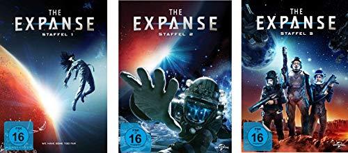 The Expanse Staffel 1 - 3 im Set - Deutsche Originalware [10 DVDs]