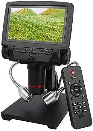 Andonstar ADSM301 Microscopio Digital 1080P HDMI/AV Soporte PCB Soldador UK Plug
