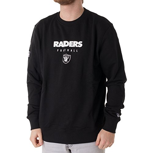 New Era Herren Oberteile / Pullover Team Apparel Oakland Raiders schwarz S