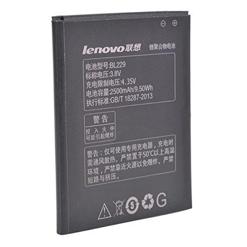 2500mAh Lenovo BL229 Batería de repuesto para Lenovo A806 A8