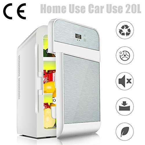 EnweTon Nevera para Furgoneta Camper, 20L Mini Refrigerador Portátil Neveras De Viaje Accesorios para Coche para Camión De Viaje, Dormitorio, Oficina
