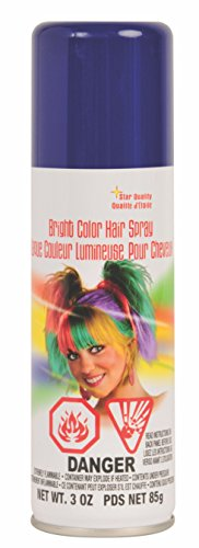 Rubie's Bright Color Hairspray, Blu…