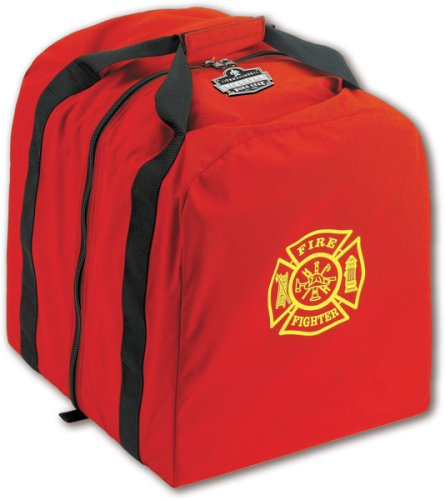 Ergodyne Arsenal 5063 Firefighter Turnout Gear Step-In Gear Bag with Center Opening, Tall
