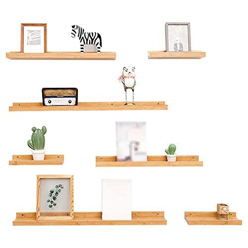 Schwimmende Regale Wandregal/Schwimmregal an der Wand/Moderne Wandregale, Wohnkultur Wandregal für Wohnzimmer, Büro, Schlafzimmer, Badezimmer, Küche