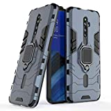 MRSTER OPPO Reno2 Case, Heavy Duty Armor Dual Layer Shock