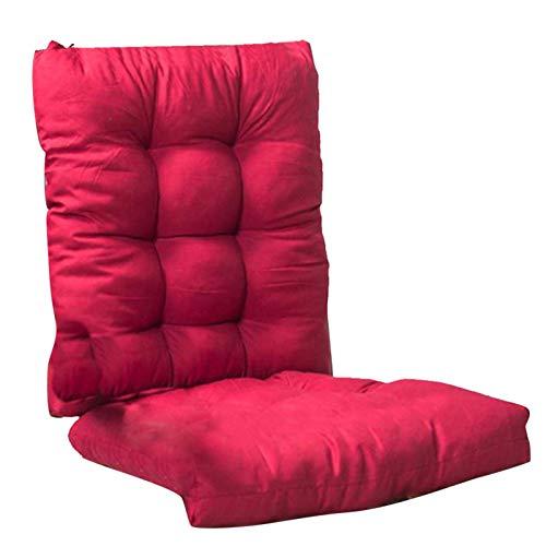 PPOIU Cuscini per sedie da Giardino con Schienale, Cuscini per sedili da Giardino Spessi, Cuscino per sedili per divani da Esterno per Il Relax in Giardino di casa