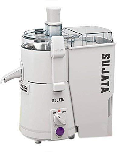 Sujata Powermatic Juicer, 900 Watts, Without Jar, (White)