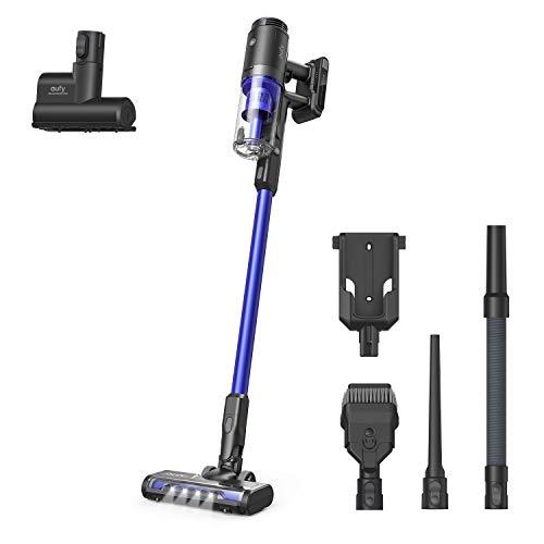 eufy by Anker, HomeVac S11 Go, kabelloser Stabstaubsauger, federleicht & kompakt, 120AW Saugkraft, Abnehmbarer Akku, ideal für Teppiche und Hartböden