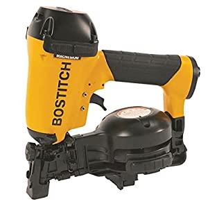 Factory-Reconditioned BOSTITCH U/RN46-1 3/4-Inch to 1-3/4-Inch Coil Roofing Nailer by BOSTITCH