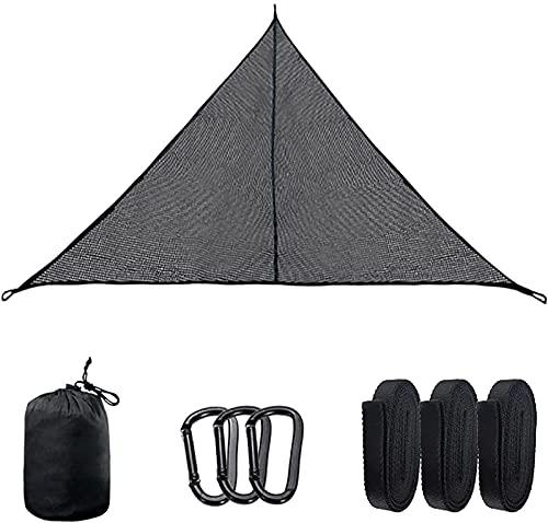 XJZSD Hamaca de Camping multifunción, Hamaca de triángulo de diseño de 3 Puntos portátiles Hamaca al Aire Libre para Acampar Patio de Patio Trasero
