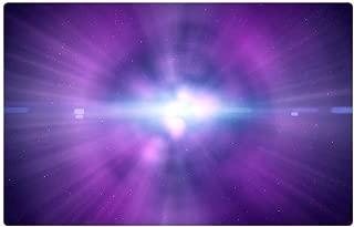 Tree26 Indoor Floor Rug/Mat (23.6 x 15.7 Inch) - Light Purple Cosmic Abstract Background Wallpaper