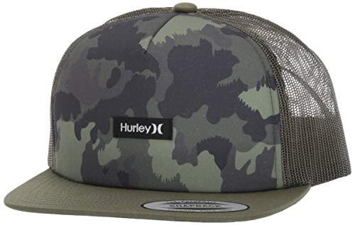 Hurley M Mixtape Hat Gorras, Hombre, Camo Green, 1SIZE