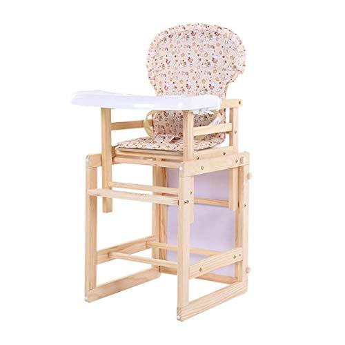 Houten Baby Hoge Stoel, Peuter Kinderen Kinderstoel Feeding Seat Geen Verf, voor Eetkamer Woonkamer Babyvoeding Lade Commerciële of Binnenlandse