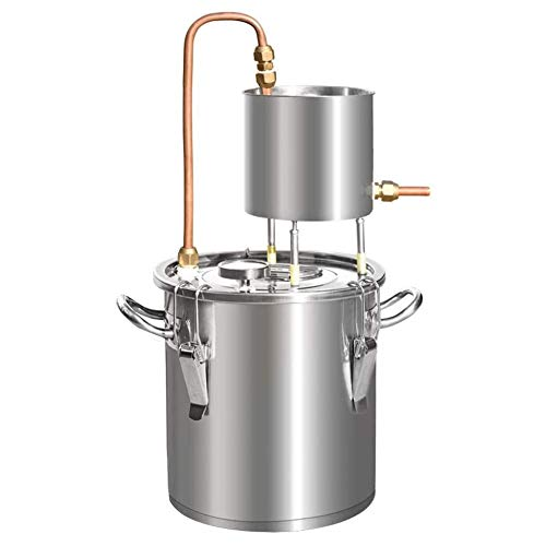 JIXIN 3 Gallonen, Gärtank Wein Und Bier Professionelle Oder Häusliche Verwendung, Edelstahl Und Kupfer
