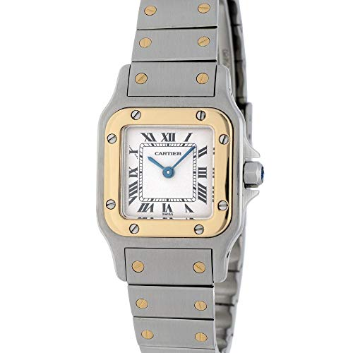 Cartier Santos Galbee Automatic-Self-Wind 1567 - Reloj de Pulsera para Mujer