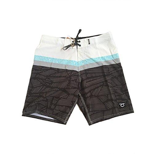 TOM CARUSO Beach-Tennis-Kostüm Bord Bermudashorts Cleveland 36 schwarz XL
