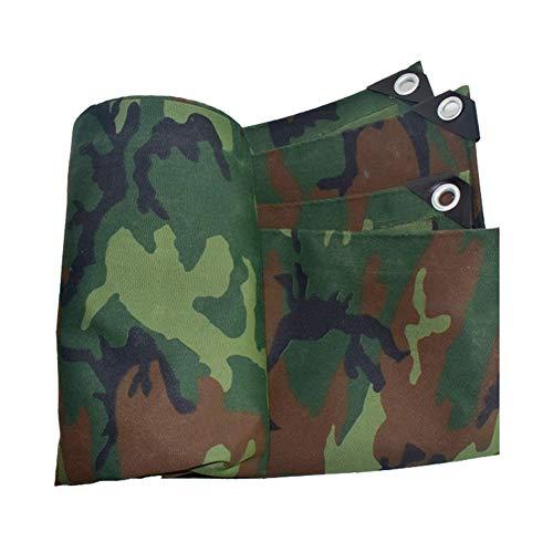 Getrichar Thicken rainproof tarpaulin camouflage waterproof cloth tarpaulin cloth awning outdoor truck tarpaulin sun protection environmental protection (Size : 2m*3m)