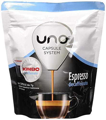 288 Caffe' Uno Capsule System Kimbo Espresso Decaffeinato Dek